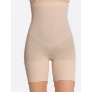 Spanx higher power mid thigh shape wear shorts